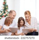 family  holidays  technology... | Shutterstock . vector #222757273