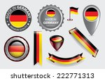 made in germany seal collection ... | Shutterstock .eps vector #222771313