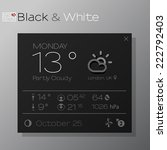 vector design of elegant... | Shutterstock .eps vector #222792403