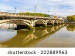 Saint Esprit Bridge In Bayonne...