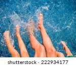 close up of feet of family in...   Shutterstock . vector #222934177