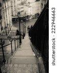 montmartre  paris | Shutterstock . vector #222946663