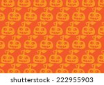 halloween pumpkin background | Shutterstock .eps vector #222955903