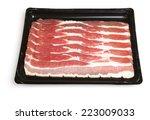 Bacon Strips In Plastic...