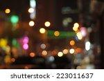 blur image of masjid india... | Shutterstock . vector #223011637