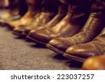 Brown Vintage Leather Boots...