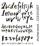 alphabet | Shutterstock .eps vector #223101007