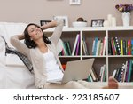 it's my time for relax   | Shutterstock . vector #223185607