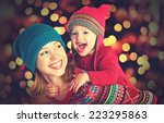 happy family mother and baby... | Shutterstock . vector #223295863