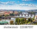 Scenic View Of Bridges On The...