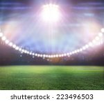 stadium in lights | Shutterstock . vector #223496503