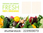 Fresh Fruits And Vegetables...