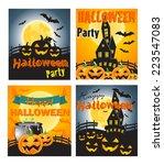 halloween | Shutterstock .eps vector #223547083