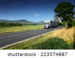 truck on the road | Shutterstock . vector #223574887