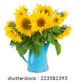 Bouquet Of Bright Sunflowers ...