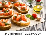 Bruschetta With Roasted...