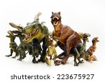 Isolated Dinosaurs Model On...