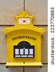 Antique German Mail Box