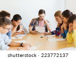 education  school  test and... | Shutterstock . vector #223772137