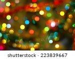 Christmas Bokeh Background