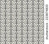 seamless pattern. linear scaled ... | Shutterstock .eps vector #223874833