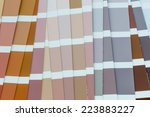 color guide spectrum background | Shutterstock . vector #223883227