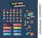 flat web graphics