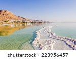 Landscape Dead Sea Coastline I...