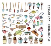 Gardening Tools  Illustration...