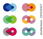 Collection Of Sphere Vector Se...