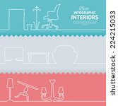 flat colors infographics with...