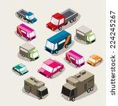 the cars | Shutterstock .eps vector #224245267