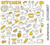 set of kitchen icons. including ... | Shutterstock .eps vector #224318857