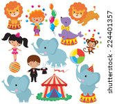 circus vector illustration | Shutterstock .eps vector #224401357