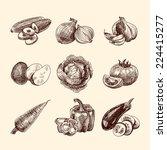 Vegetable Natural Organic Food...