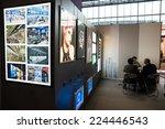 milan  italy   october 17 ... | Shutterstock . vector #224446543