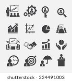 business icon | Shutterstock .eps vector #224491003