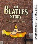 Постер, плакат: The Beatles Story is