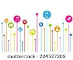 social media | Shutterstock .eps vector #224527303