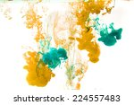 inks in water | Shutterstock . vector #224557483