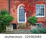 english door. | Shutterstock . vector #224582083
