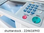 office life  fax  copy machine  ... | Shutterstock . vector #224616943