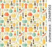 beauty  fashion  sale  shopping ... | Shutterstock . vector #224689303