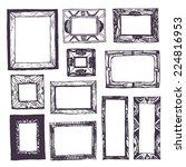 doodle frames   Shutterstock .eps vector #224816953