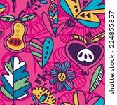 bright amazing graphic vector... | Shutterstock .eps vector #224855857
