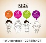 kids graphic design   vector...   Shutterstock .eps vector #224856427