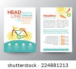 brochure flyer design vector...