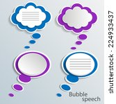 infographic design with white... | Shutterstock .eps vector #224933437