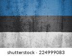 the concept of national flag on ... | Shutterstock . vector #224999083