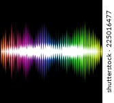 sound equalizer wave abstract... | Shutterstock .eps vector #225016477
